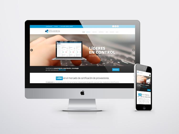 C-Laborem  Pagina Web web-c-laborem